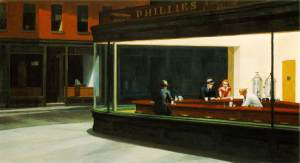 Nighthawks Ed Hopper